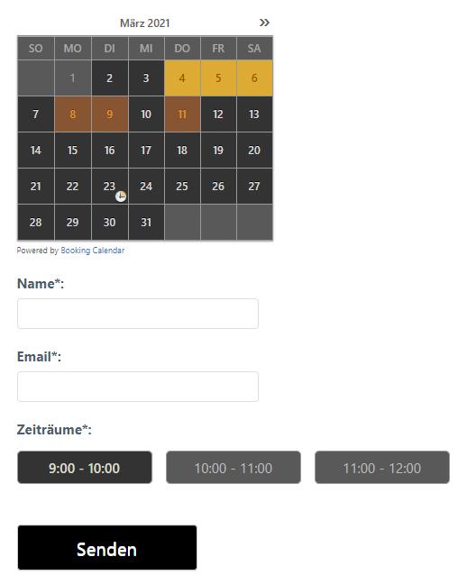 Webdesign Landsberg Screenshot UI