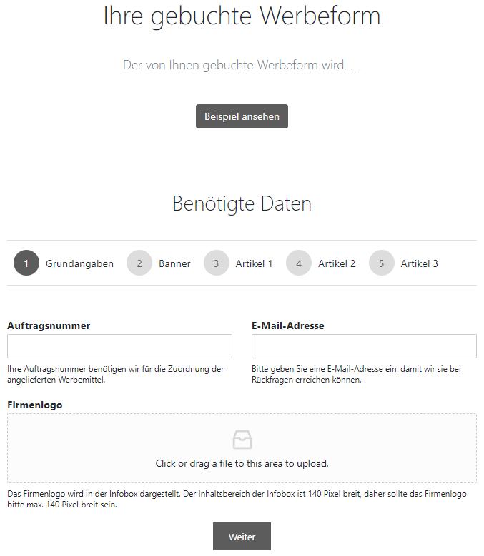 Webdesign Landsberg Screenshot Gutschein